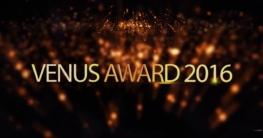 Venus Award Gala 2016 in Berlin mit Niels Ruf, Paula Rowe, Lena Nitro und vielen mehr!