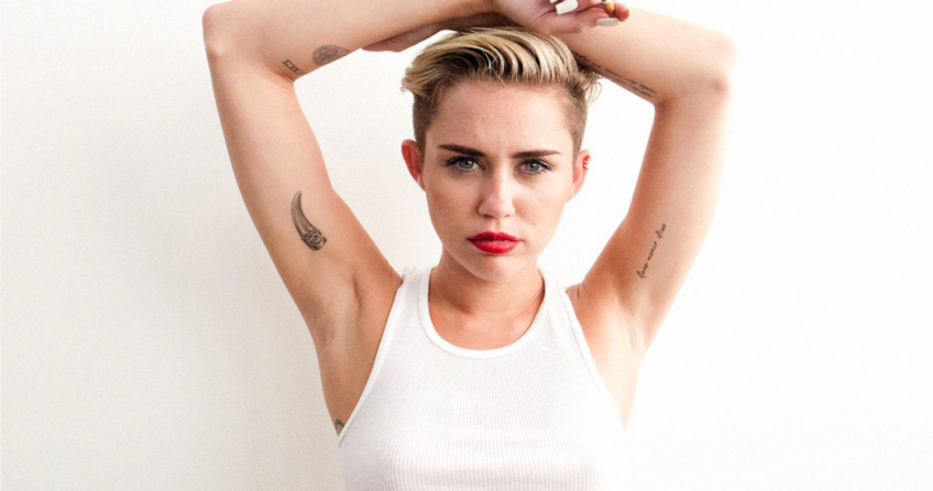 Disney-Prinzessin Miley Cyrus nackt